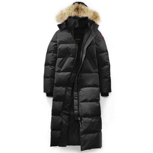 Meilleur Canada hiver chaud doudoune femmes designer manteaux en plein air à capuche épais coupe-vent mystique parkas vestes noir vente