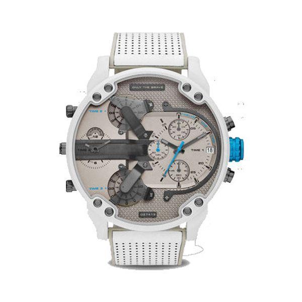 2019 новый модный бренд DZ кварцевые часы из высококачественной кожи из нержавеющей стали с многофункциональными мужскими спортивными часами
