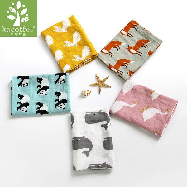 Baby Burp Cloths 60*60 cm Organic Cotton Gauze Muslin Activity Baby Bib Handkerchief Baby Bibs Soft Newborns Towel