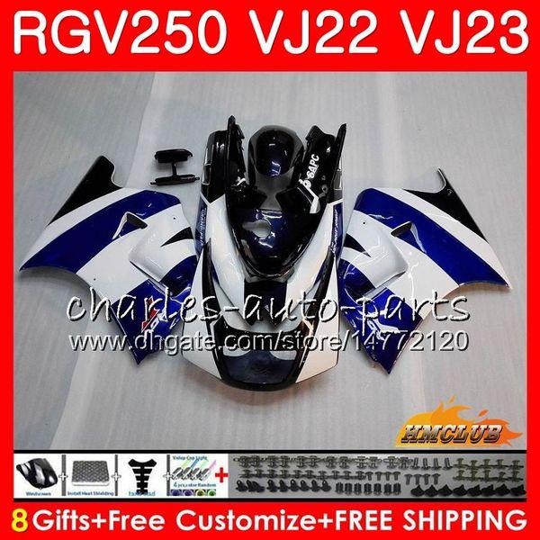 Vücut SUZUKI SAPC RGV250 Için stok mavi yeni VJ23 94 95 96 97 98 99 Çerçeveler 21HC.5 RGV-250 VJ22 RGV 250 1994 1995 1996 1997 1998 1999 Fairing