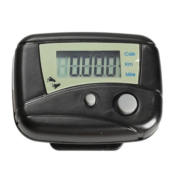 Large LCD Display Pedometer Run Step Pedometer Walking Distance Calorie Counter Fitness Training Passometer with belt clip