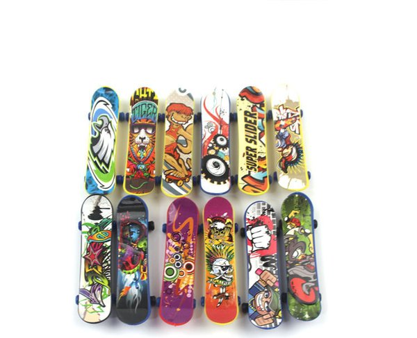 High quality mini finger skate board fingerboard toys novelty cute athletic finger skateboards tech deck gifts for children kids wholesale