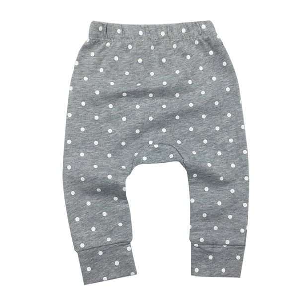 Boys Girls Baby Pants Kids Casual Harem PP Trousers Knitted Cotton Unisex Toddler Leggings Newborn Infant Clothing