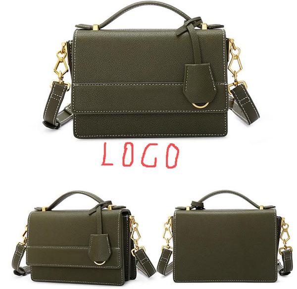 Women's bag 2019 new fashion small square bag Messenger bag c&k handbag