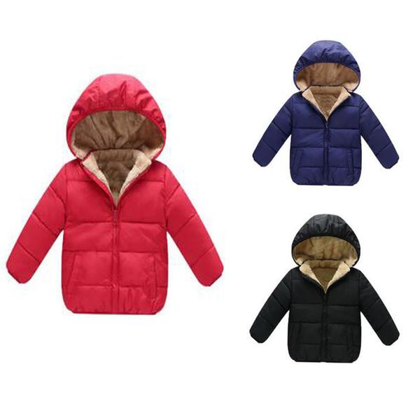 Compre 2020 Los Bebés De Los Abrigos De Invierno Prendas De Vestir Exteriores Encapuchada Parkas Chaquetas Bebé Espesar Calentar La Ropa Externa De