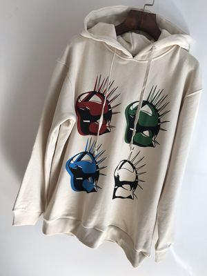 Classic style mens designer LETTER decoration BIG STYLE hoodie US SIZE ~ mens high quality designer italy mask paris hoodies free ship