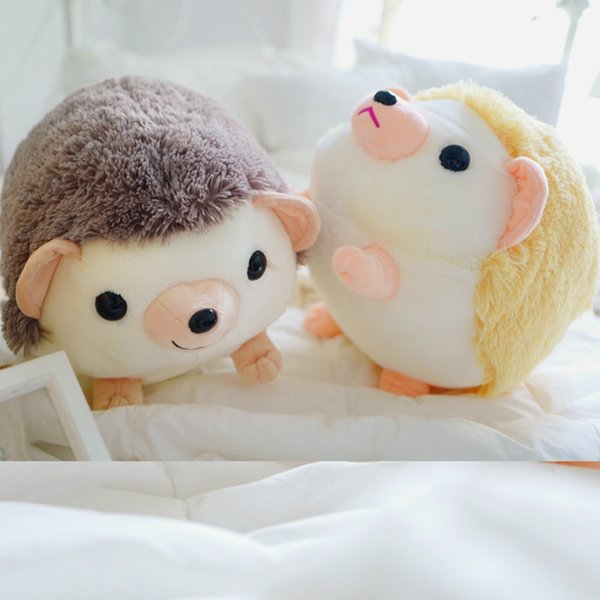 doll stuffed 32-40cm Cute Lovely Soft Hedgehog Animal Doll Stuffed Plush Toy Child Kids Home Wedding Party Toys for Children Kid gift