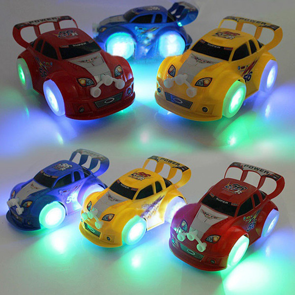 toy sports s light up Musical Baby Electric Car model Boys Kids toys Automatic steering car for children