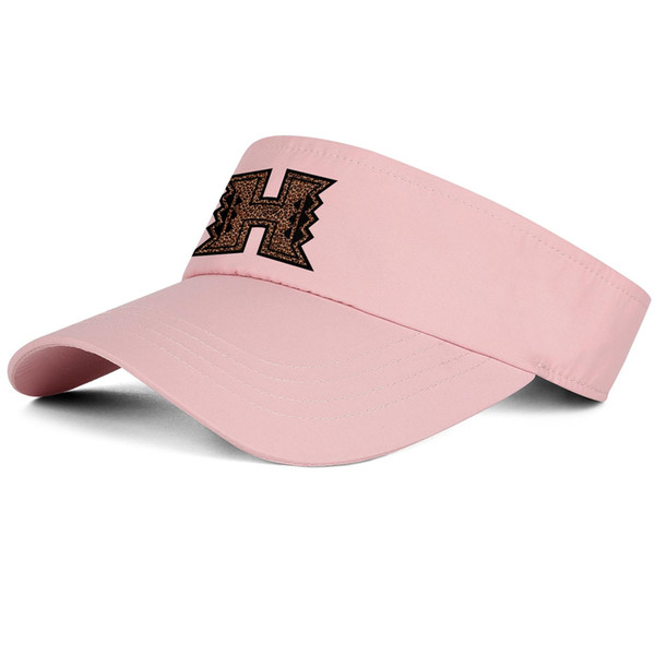 1Hawaii Warriors Leopard Print logo pink man and woman tennis hat truck driver design custom hat design yourself fit team cap f