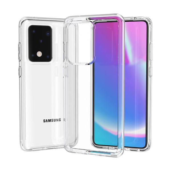 Transparente para Samsung Galaxy S20 Plus Ultra Cristal Proteção Slim Full-corpo robusto de Preços por Atacado Phone Case