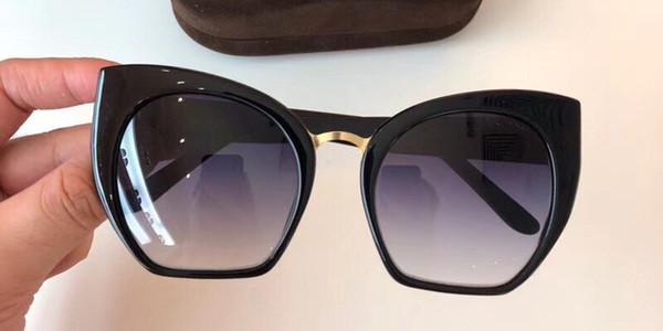 Luxo 553 Óculos De Sol Para As Mulheres Designer De Moda Popular Estilo Retro UV Proteção Lente Cat Eye Quadro de Alta Qualidade Livre Vem Com Pacote
