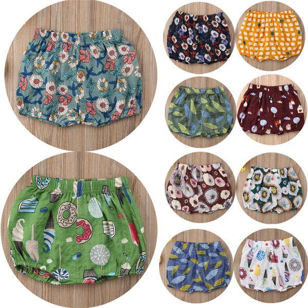 top popular Newborn Baby Boys Shorts Summer 2019 Cotton PP Shorts For Boys Children Harem Trousers Toddler Short Pants Kids Clothing 0-4T 2021