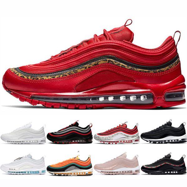zapatillas nike air max 97 mujer rojo