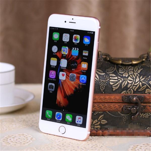 Sbloccato Apple iPhone 6 6plus 1GB RAM da 4.7 pollici IOS12 Dual Core 1.4GHz 16/64 / 128GB ROM 8.0 MP Fotocamera 4G LTE Cellulare utilizzato Fingerprint