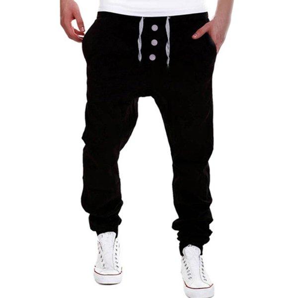Erkekler Pantolon Benzersiz Büyük Cep Harem Pantolon Kaliteli Dış Giyim Sweatpants Harem Rahat Jogging Yapan Dans Sportwear Baggy 4.18