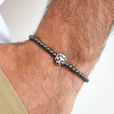 Silber Löwenkopf