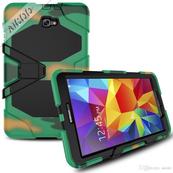 Für samsung t590 defender case hybrid 3 in 1 tablet cases ständer abdeckung für samsung t830 t387 t380 p3200 t230 t280 t330 t350 t580 opp
