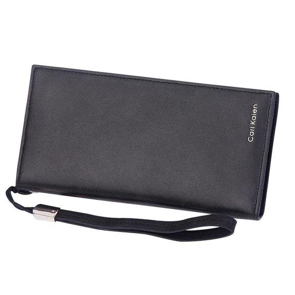 Pop2019 Women Solid Color Hasp Dull Polish Multi Card Position Wallet Handbag Purse For Girls Bags Bolsa