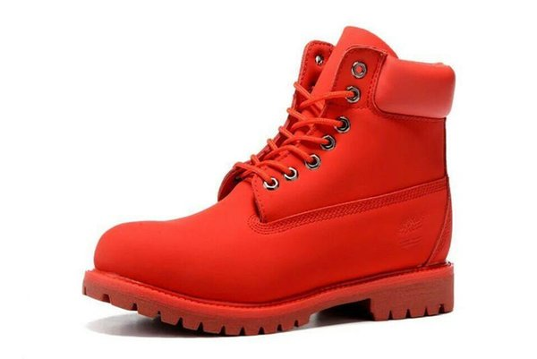 pretty nice bfbff 00957 New timberland Original Brand boots Women Men Designer 2Sports Red White  Winter Sneakers Casual Trainers Mens