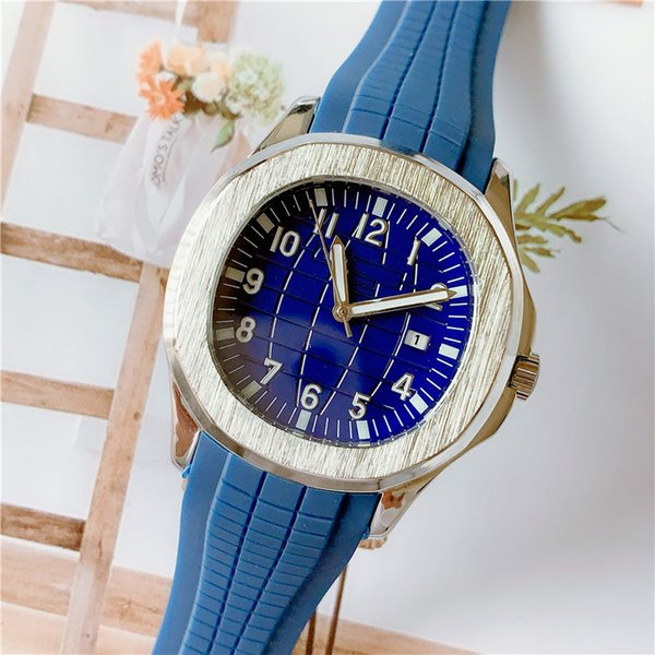 Wholesale Mens Women Luxury Watch Brand pp Stainless Steel 38mm Designer Watches Quartz Movement Rubber Strap Sport Wristwatch Lady Watches