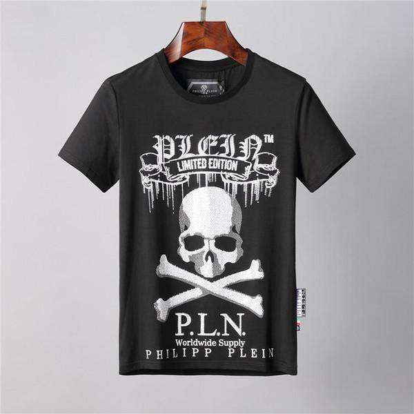 20ss Marchi Sport Hip Hop Design Inverno uomo T-shirt pantaloncini di cotone Skull Hip Hop Designers Mens delle magliette delle donne Tops WM88003