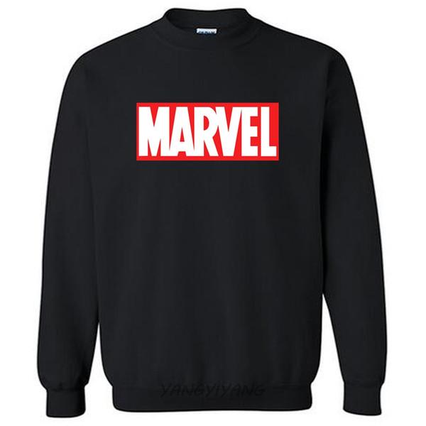 Marvel Box Logo sweat-shirts pour hommes automne coton à capuche plus de couleur euro taille expédition de baisse