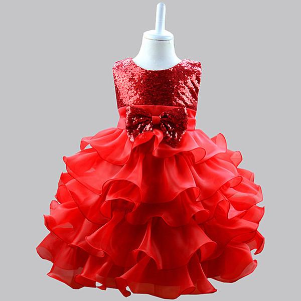 New Girls Dress Sleeveless Long Dress Flare sleeve Wedding Vestidos Para Ninas Graduation Costumes Kid Ball Gown