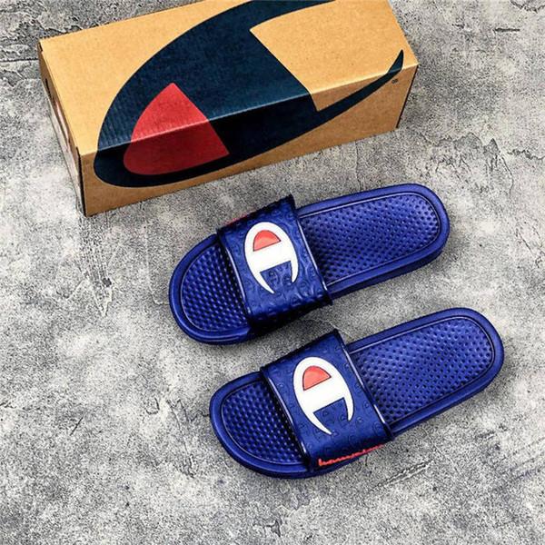 street style flambant neuf pantoufles de designer pour hommes été plage glisse sandales de luxe taille 40-45