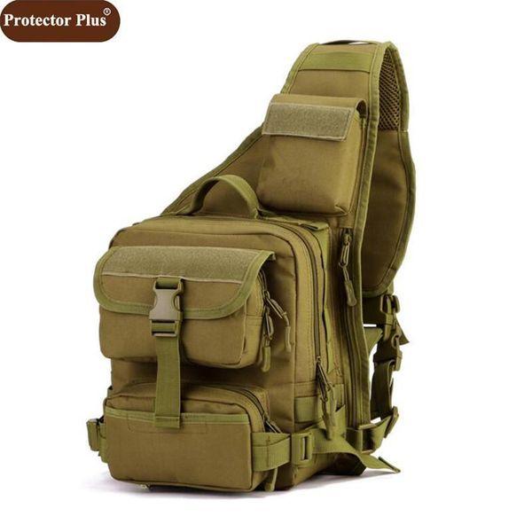 Protector Plus Nice Men Bags Multi-function One Single Shoulder Bag Men Big Large Ride Travel Handbag Vogue D588
