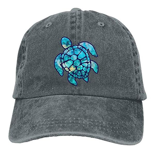 2019 nuevo barato gorras de béisbol de impresión sombrero de alta calidad  tortuga marina para hombre de algodón ajustable lavado sarga sombrero de  gorra de ... f75dcd859b5