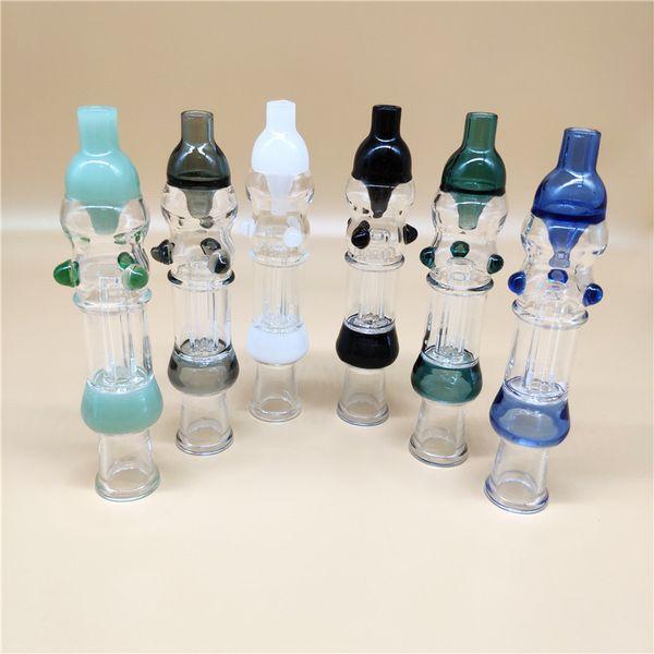 OD 1,0 pulgadas néctar Collectorxx adecuado con un clavo de titanio de 14 mm A Plásticas conector A Glass Bowl para la paja de cristal Bongs