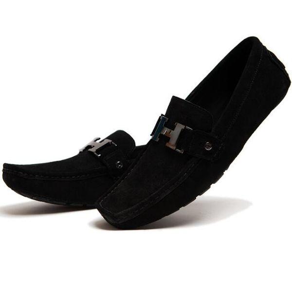 Calzado casual de hombre Calzado de hombre Mocasines de verano Zapatillas mocasines Zapatos Calzado Guisantes para hombre Tamaño: 40-46