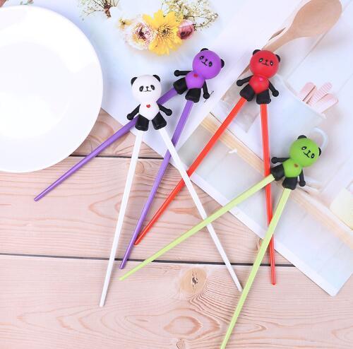 Silicone Cartoon Panda Helper Chopstick Children Baby