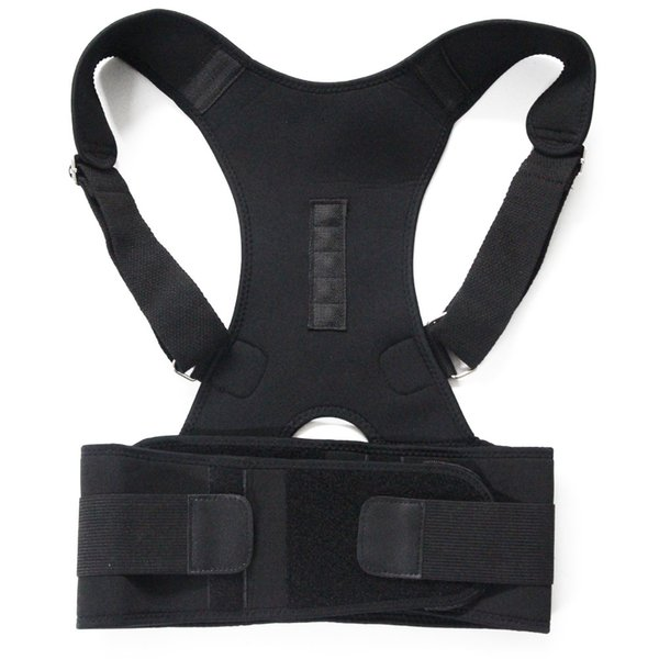 Therapy Posture Magnetic Corrector Brace Shoulder Back Support Belt for Men Women Braces & Supports Belt Shoulder Posture Feecy