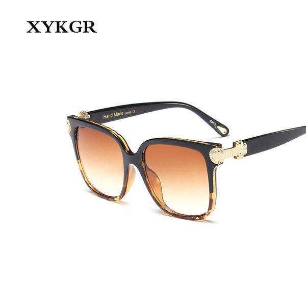 129175867b Gafas de sol de la marca XYKGR para mujer. Gafas de sol artesanales de metal