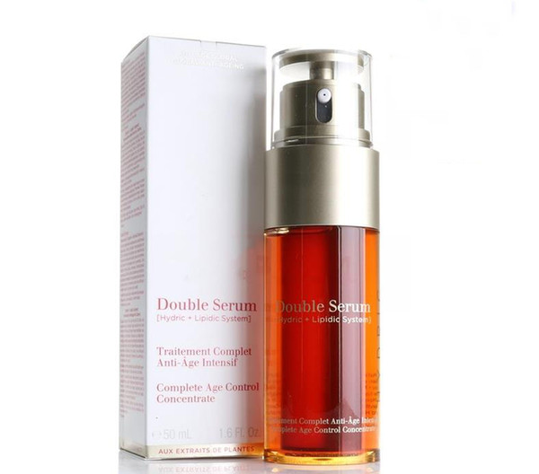 best selling Top Quality Paris Double Serum Hydric Lipidic System Traitement Complet Intensif Facial Essence 50ml