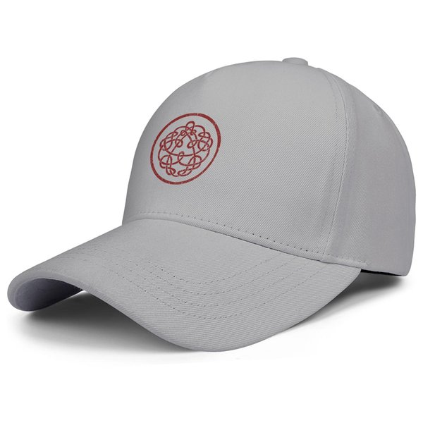 King Crimson logo grey mens and women trucker cap baseball cool custom blank team youth hats