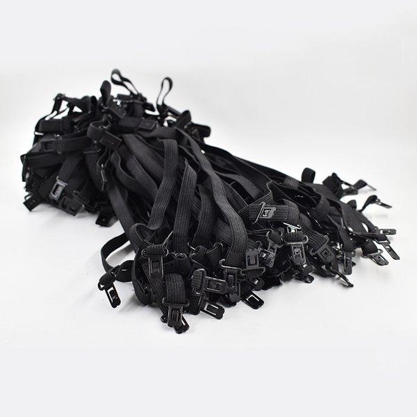 100 stücke marke 2019 diy fliege zubehör für männer frauen hochzeit krawatte einstellungsseil neue maximale länge 45 cm 50 cm gummiband mx190817
