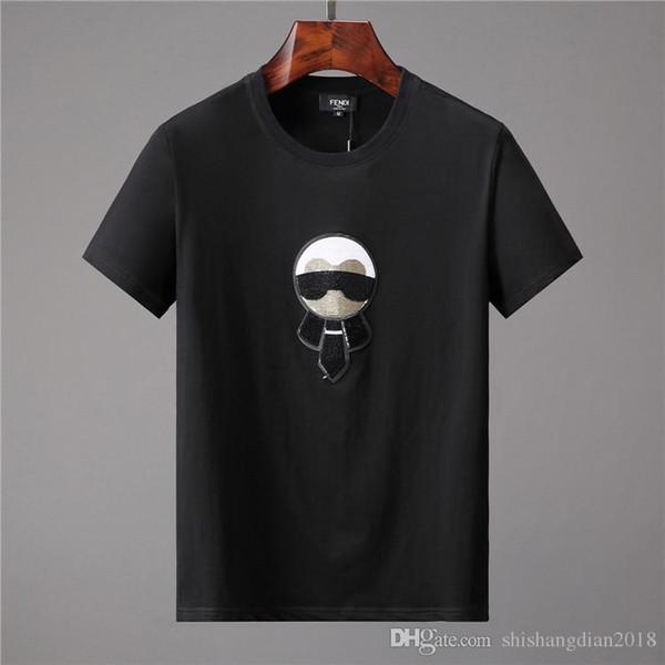 T-shirt d'été Top pour hommes avec lettre Lettre Shirt T-shirt à manches courtes de la marque de vêtements pour hommes T-Shirt S-XXXL