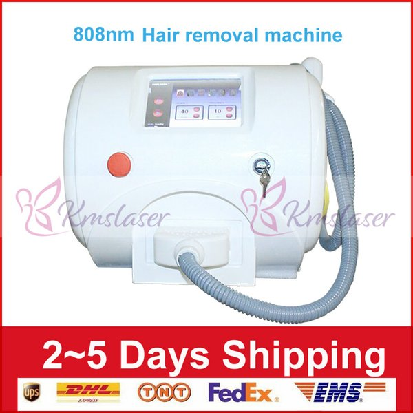 No pain 808nm diode laser Elight hair removal Portable 808 laser diode dark facial skin care therapy machine