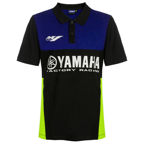 2019 new arrival moto gp summer top cycling racing motorcycle for yamaha adult casual car fan polo shirt enduro motocross moto