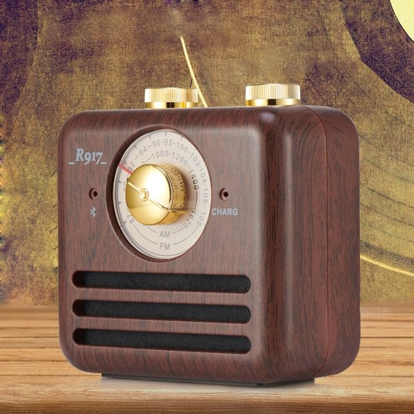 Best Retro Rechargeable Nostalgic Portable Radio Am Fm Radio Speaker for office/home/outdoor receiver