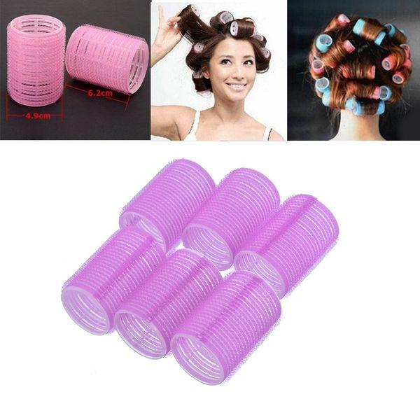 Горячие Продажи Бигуди с Самоконтролем для Волос Цепление Любого Размера DIY Бигуди для волос @ ME88
