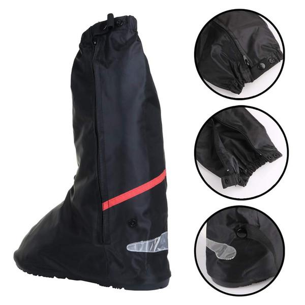 Yeni Kadın Erkek Ayakkabı Kapağı Su Geçirmez Kalınlaşmak Kaymaz Yüksek Ayakkabı Kapak Açık Seyahat için BN99