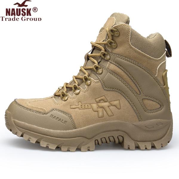 Мужские ботинки Combat Mens Chukka Ботильоны Тактические армейские мужские ботинки больших размеров Защитные мотоциклетные ботинки