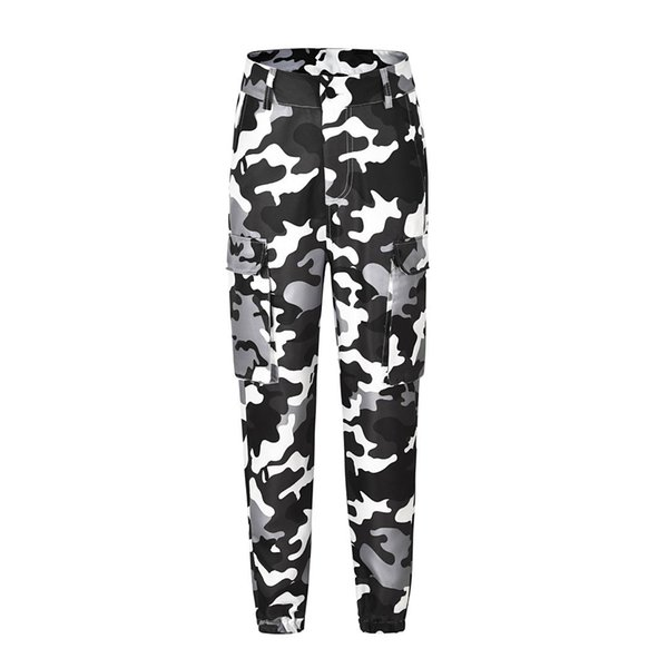 2019 new ripped jeans for women plus size women trousers Camouflage printed leggings jeans leggings woman(belt not include