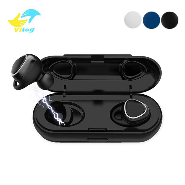 Xi7 TWS Drahtlose Kopfhörer Bluetooth 5.0 Sound 3D Stereo Ohrhörer Mini Sport Headset mit Ladebox für Samsung Xiaomi