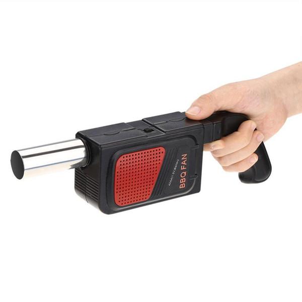 Ventilateur de ventilateur de barbecue électrique portable de poche pour le camping en plein air pique-nique, ventilateur de barbecue, Soplador, outil de cuissonPortable électrique de poche