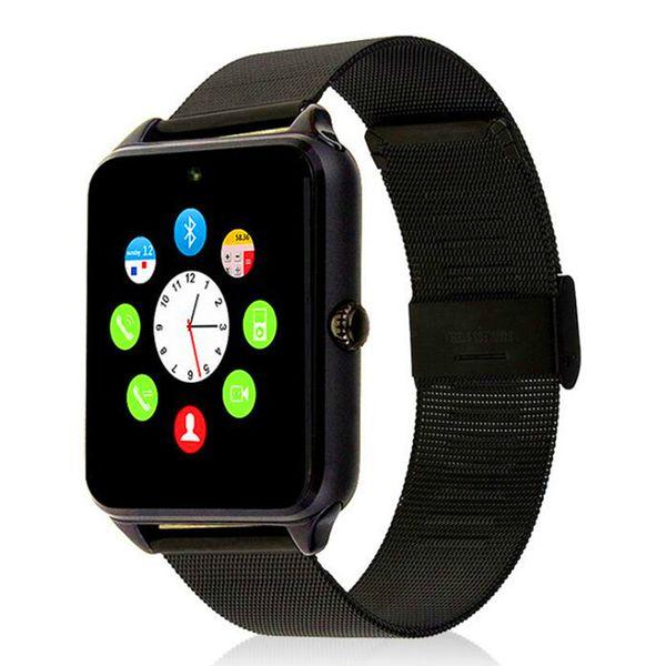 Z60 Smart Watch Bluetooth Android IOS Phone Call 2G GSM SIM TF Card Camera Smartwatch Twitter Facebook PK GT08