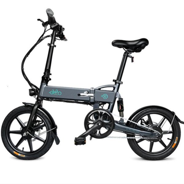 top popular Smart Electric Scooter Girls Women 2Wheels Fiido D2 Folding E Bike 36V 250W 25KM H 2020